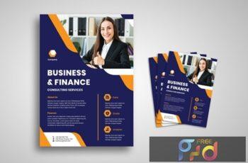 Business And Finance Flyer L4SJX24 4