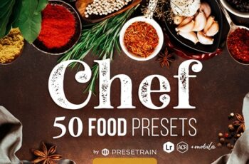 Chef - 50 Food Presets 4406657 6