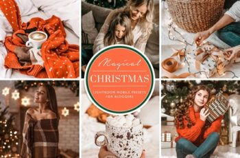 Christmas Mobile Lightroom Presets 4385090 4
