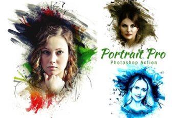 Portrait Pro Photoshop Action 4198792 3