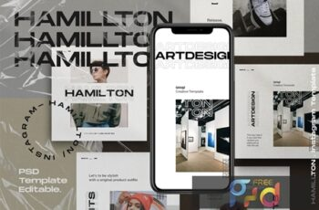 Hamilton Pack 2- Urban Fashion Instagram + stories JVMK5X7 5