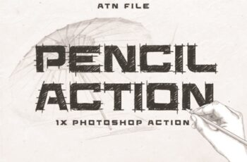 Easy Pencil Effect for Photoshop 2333200 4