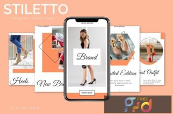 Stiletto - Instagram Story Pack FB627PW 3
