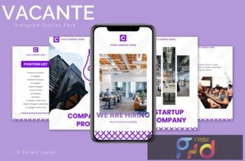 Vacante - Instagram Story Pack HXAUN5R 5