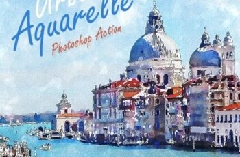 Urban Aquarelle Photoshop Action 24986426 5