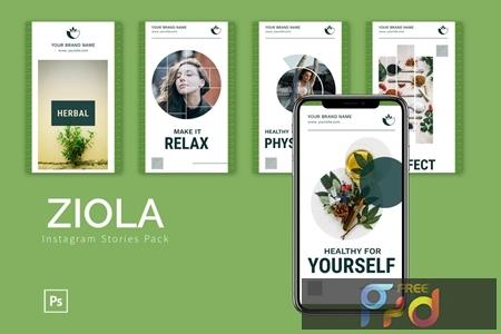 Ziola - Instagram Story Pack C5TT5LJ 1