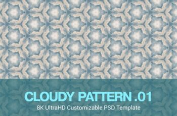 8K UltraHD Seamless Cloudy Pattern Background 7