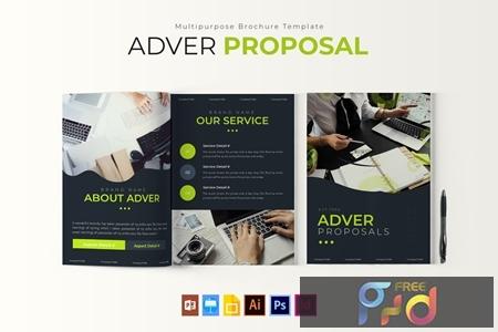 Adver - Proposal Template K4G8KNJ 1