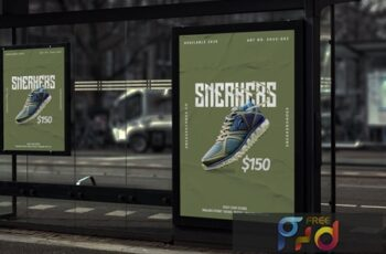 Sneaker Shoes - Product Promotion Poster RB UCCJVCZ 6