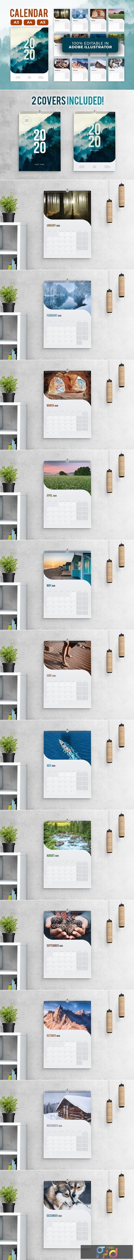 2020 Calendar Template 4401115 1