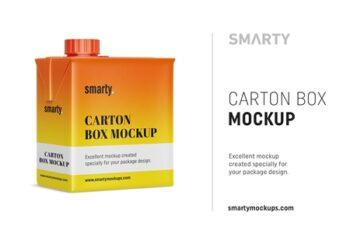 Carton box mockup 4357839 6