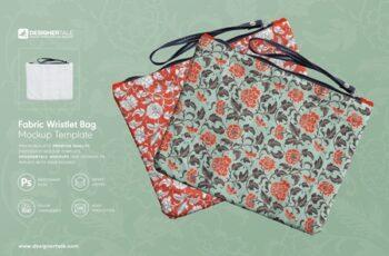 Fabric Wristlet Bag Mockup 4103667 5