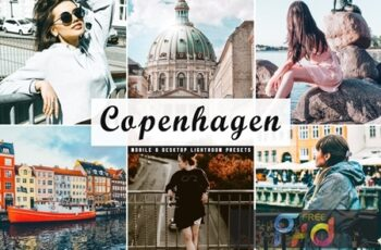 Copenhagen Mobile & Desktop Lightroom Presets RSEF8JT 6