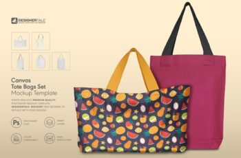 Tote Bag Mockup Set 4125819 6