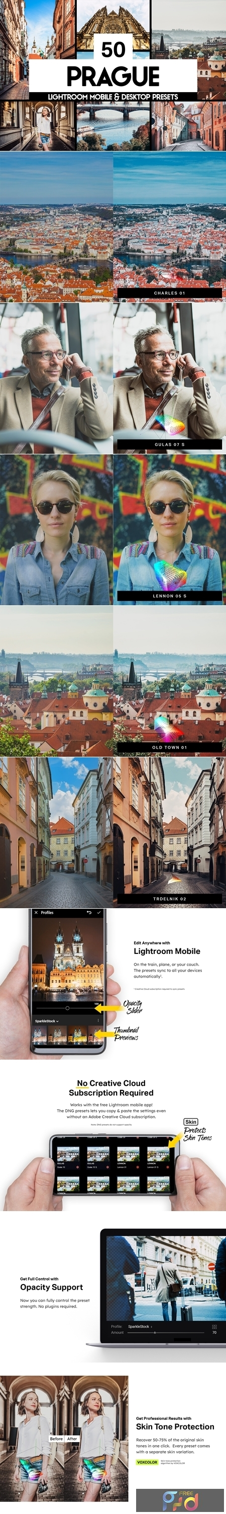 50 Prague Lightroom Presets and LUTs 4417553 1