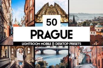 50 Prague Lightroom Presets and LUTs 4417553