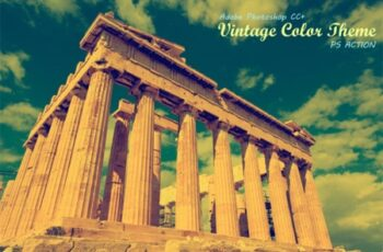 Vintage Color Theme Ps Action 2127446 8