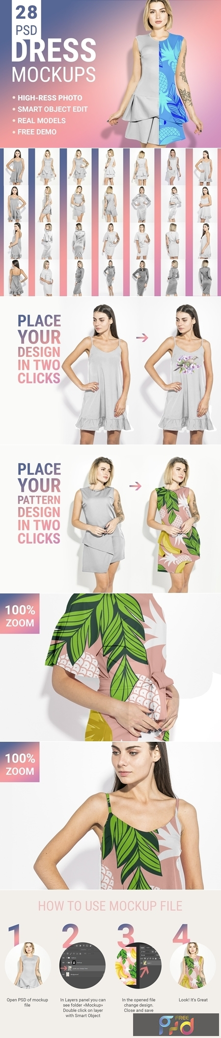Womans Fashion Mockup Bundle 3349918 1