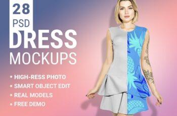 Womans Fashion Mockup Bundle 3349918 8