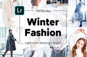 5 Lightroom Presets, Winter Fashion 4356054 7