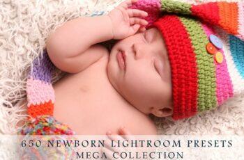 650 Newborn, Baby Lightroom Presets 4358264 7