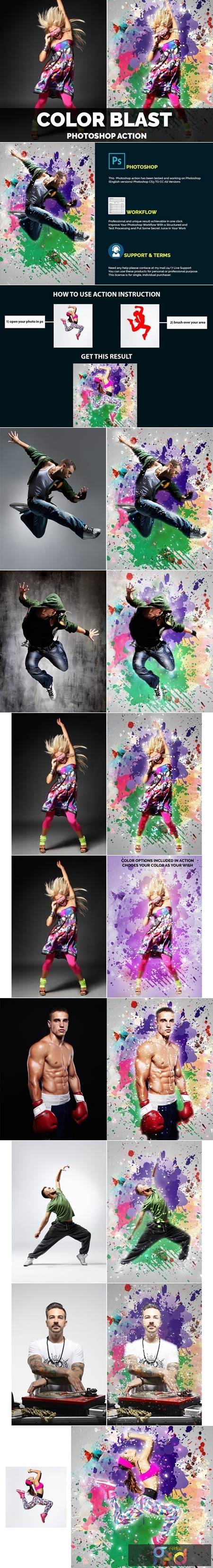 Color Blast Photoshop Action 4406654 1