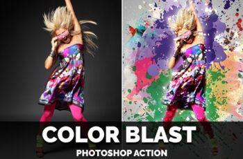 Color Blast Photoshop Action 4406654 6