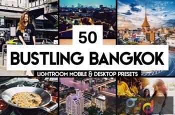 50 Bangkok Lightroom Presets & LUTs SZL3PXQ 2