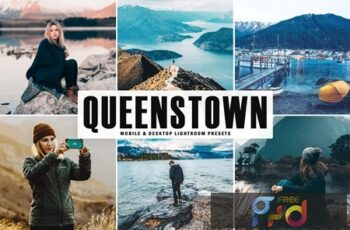 Queenstown Mobile & Desktop Lightroom Presets HNLGCGR 4