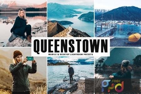 Queenstown Mobile & Desktop Lightroom Presets HNLGCGR 1