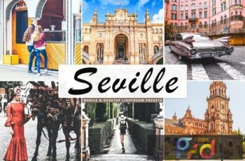 Seville Mobile & Desktop Lightroom Presets V67EQ6A 5