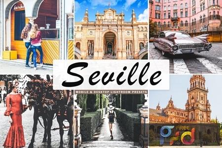Seville Mobile & Desktop Lightroom Presets V67EQ6A 1