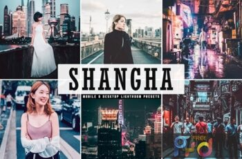 Shanghai Mobile & Desktop Lightroom Presets JM8GEVE 7