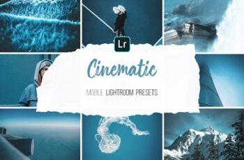 Mobile Lightroom Presets - Cinematic 4316441 6