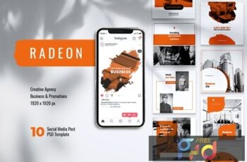 RADEON Creative Agency Instagram & Facebook Post YECNWZZ