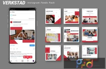 Verkstad - Instagram Feeds Pack 4RLPLAS 5
