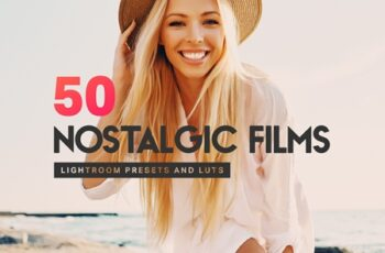 50 Nostalgic Films Lightroom Presets 4306107