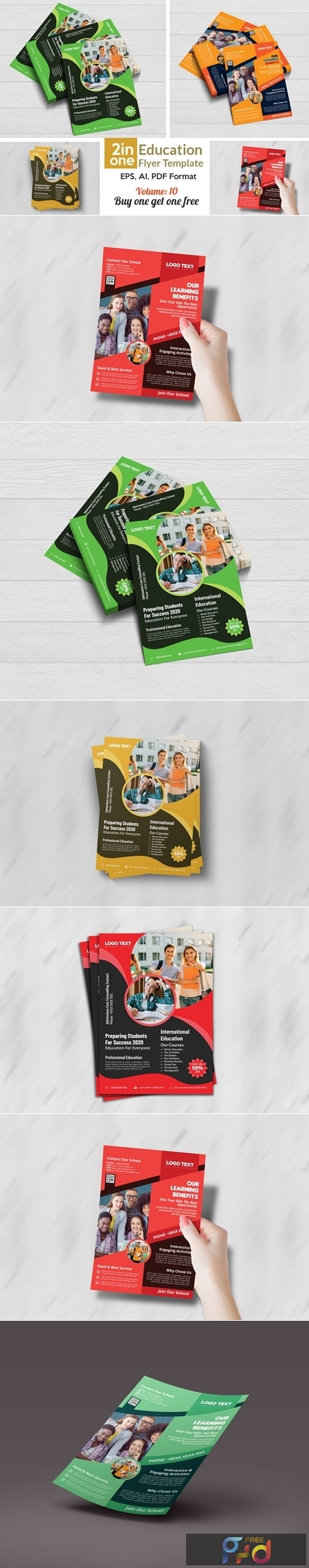 Admission Flyer Templates 4408346 1