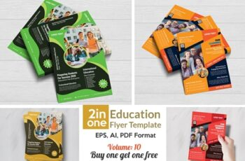 Admission Flyer Templates 4408346 3