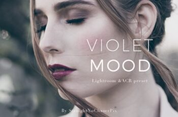 Violet Mood LR and ACR preset pack 1088016 9