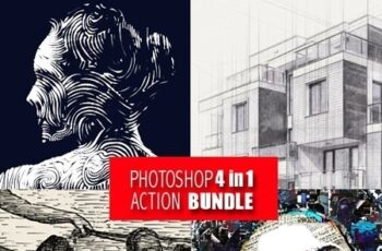 Photoshop 4in1 Actions Bundle V5 25361083 7