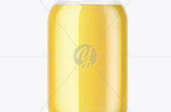 Ghee Glass Storage Jar Mockup 51713 4