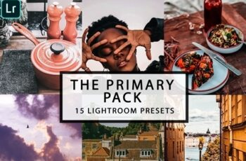15 Lightroom Presets PRIMARY PACK 4372916 2