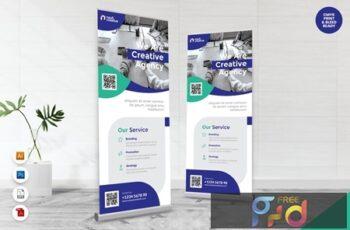 Creative Roll Up Banner AI & PSD Templates Vol. 14 QNF4VC4 9