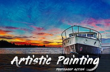 Artistic Painting Photoshop Action 4318557 6
