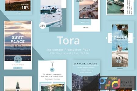 Tora - Instagram Story Pack 2PSPU4N 1