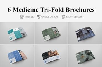 6 Medicine Tri Fold Bochures 4409089 3