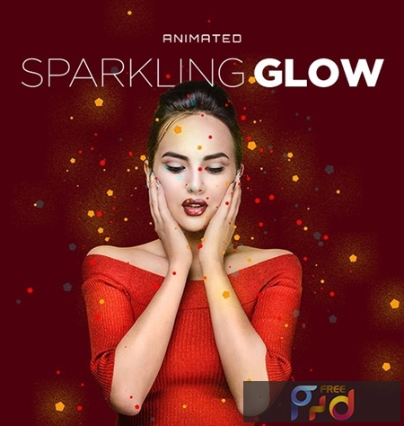 Sparkling Glow Animated Action 24823290 1