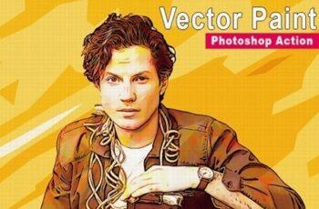 Vector Paint Photoshop Action 24804341 4