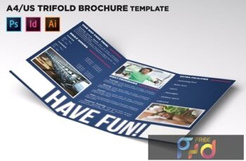 Fitness Trifold Brochure Template U9ZXFPK 16